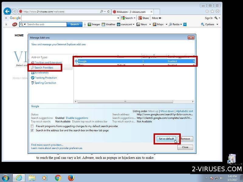 Set search engine